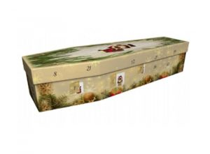 Cardboard coffin - Advent calendar - 3977