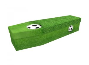 Cardboard coffin - Football - 3588