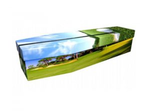 Cardboard coffin - Golf - 3762