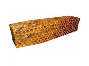 Cardboard coffin - Honeycomb - 3925