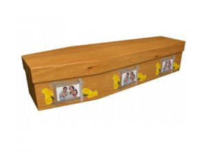 Cardboard coffin - Picture frame - 3962