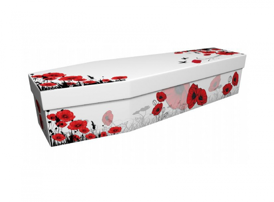 Cardboard coffin - Poppy 3 - 3908