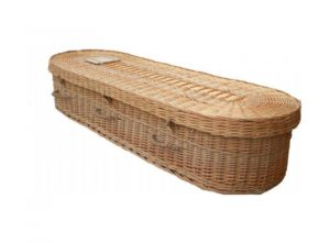 Wicker coffin (Adult) - Isis - Oval Willow - 5009