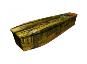Wooden coffin - BMX - 4162