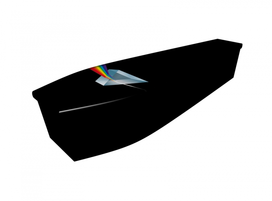 Wooden coffin - Darkside of the Moon - 4176