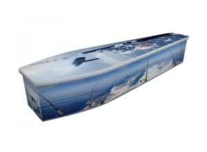 Wooden coffin - Deep Sea Fishing - 4285