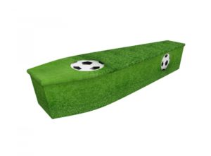 Wooden coffin - Football - 4019