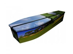 Wooden coffin - Golf 1 - 4087