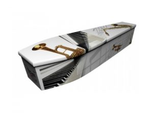 Wooden coffin - Musical instruments - 4020