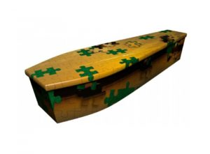 Wooden coffin - Puzzle Lakeside - 4106