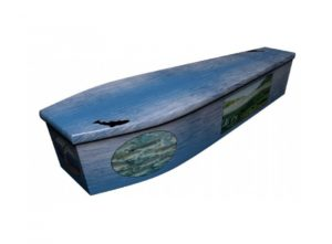 Wooden coffin - Salmon and Trout - 4113