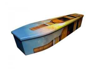 Wooden coffin - Whiskey Lovers - 4255