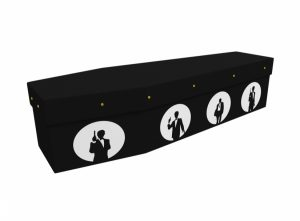Cardboard coffin - SPY - 3549