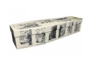 Cardboard coffin - A Christmas Carol - 3628