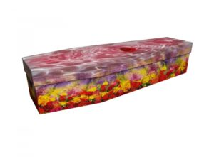 Cardboard coffin - Bath of Roses - 3590
