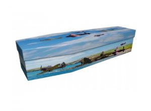 Cardboard coffin - British WWII planes - 3983