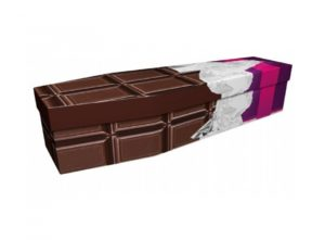 Cardboard coffin - Chocolate bar - 3643