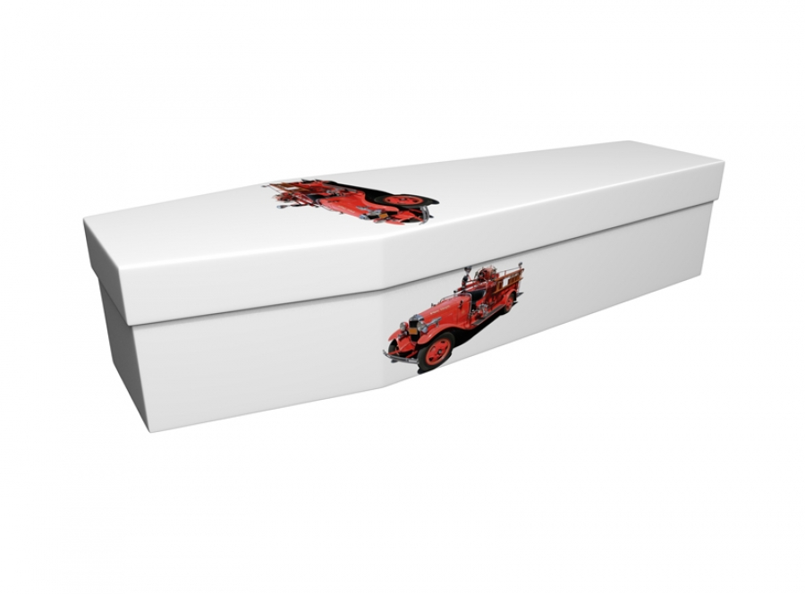 Cardboard coffin - Classic Fire Engines - 3725