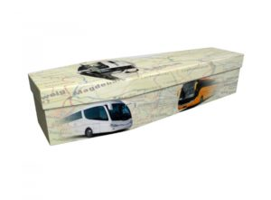 Cardboard coffin - Coaches - 3879