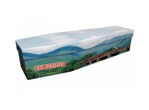 Cardboard coffin - Deltic train - 3791