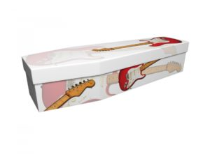 Cardboard coffin - Fender Guitar - 3734