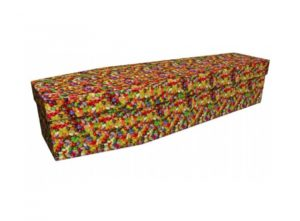 Cardboard coffin - Jelly bean - 3888
