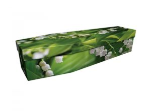 Cardboard coffin - Lily of the Valley - 3855