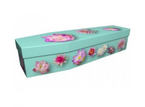 Cardboard coffin - Lotus flower - 3773