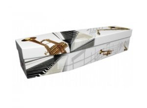 Cardboard coffin - Musical instruments 1 - 3794