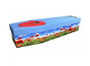 Cardboard coffin - Poppy 1 - 3625