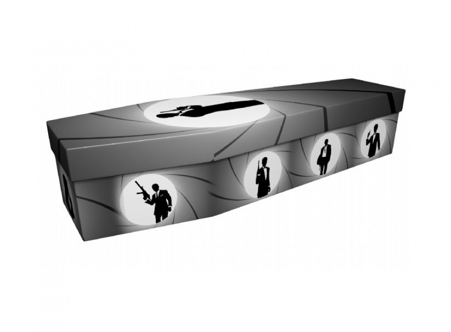 Cardboard coffin - Secret agent - 3826