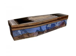 Cardboard coffin - Wild West - 3709