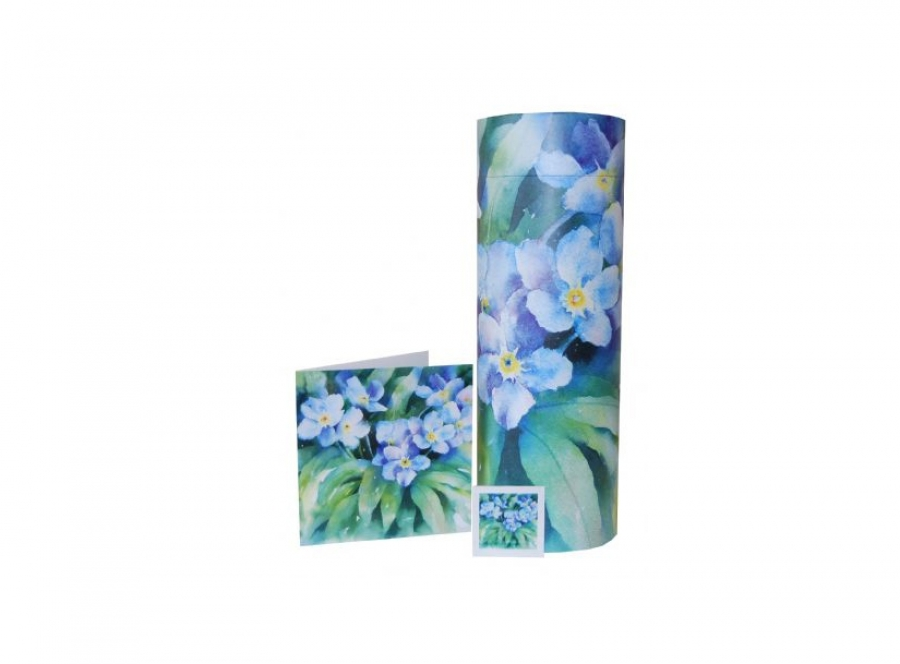 Scatter tube and Forget me not seeds - 9012