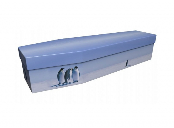 The penguin coffin