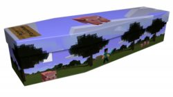 The Pork Chop Coffin...designed by Sam Carter