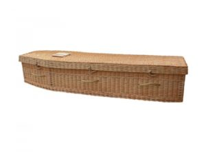 Wicker coffin (Adult) - Larkspur- Traditional Willow - 5000