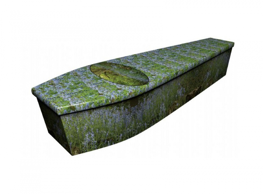 Wooden coffin - Bluebell wood - 4000