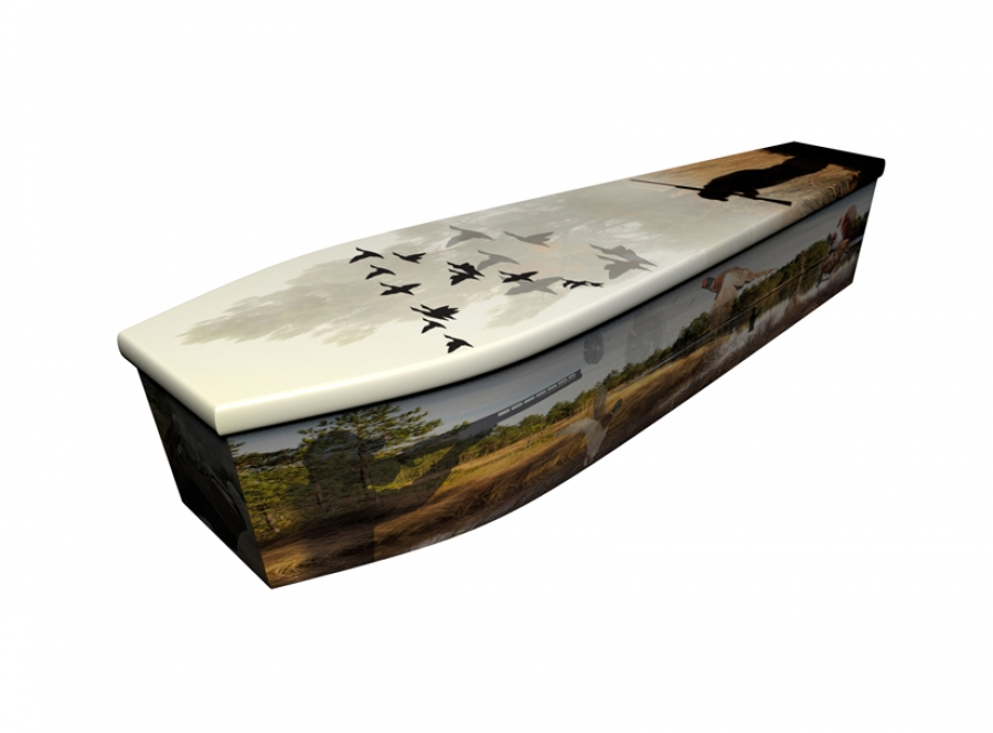 Wooden coffin - Country Life - 4172