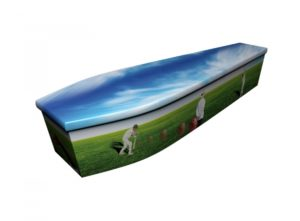 Wooden coffin - Cricket - 4175