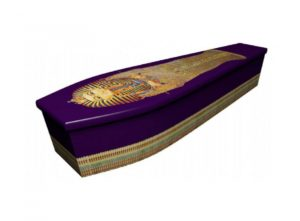 Wooden coffin - Egyptian - 4036