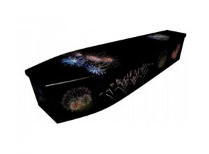 Wooden coffin - Firework - 4037