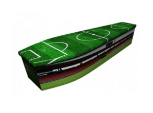 Wooden coffin - Football 1 - 4050