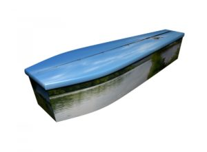 Wooden coffin - Freshwater Fly Fishing - 4184