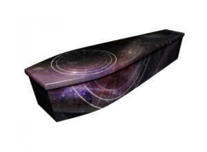 Wooden coffin - Galaxy - 4185