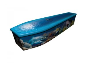 Wooden coffin - Great White Ocean - 4188