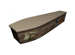 Wooden coffin - Handyman - 4191