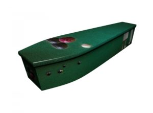 Wooden coffin - Indoor Bowls - 4194
