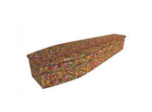 Wooden coffin - Jelly beans - 4010