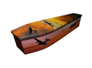 Wooden coffin - Lancaster Sunset - 4198