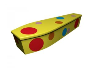 Wooden coffin - Mr Tumble Bags - 4207